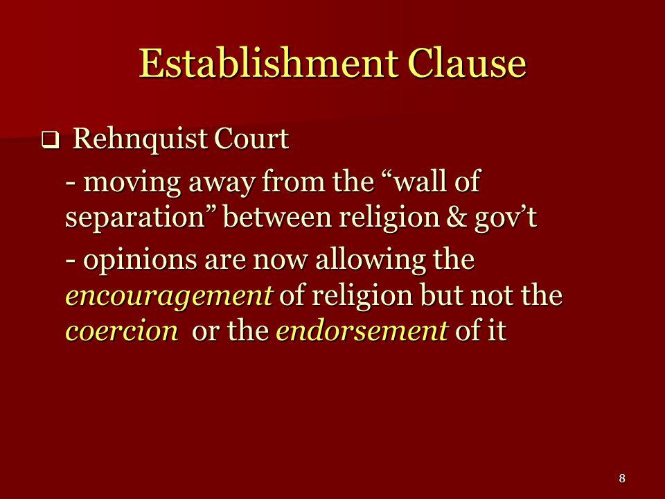 39 Fifth & Sixth Amendments  What constitutes self-incrimination.