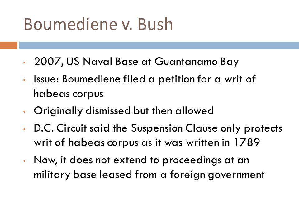 Boumediene v.