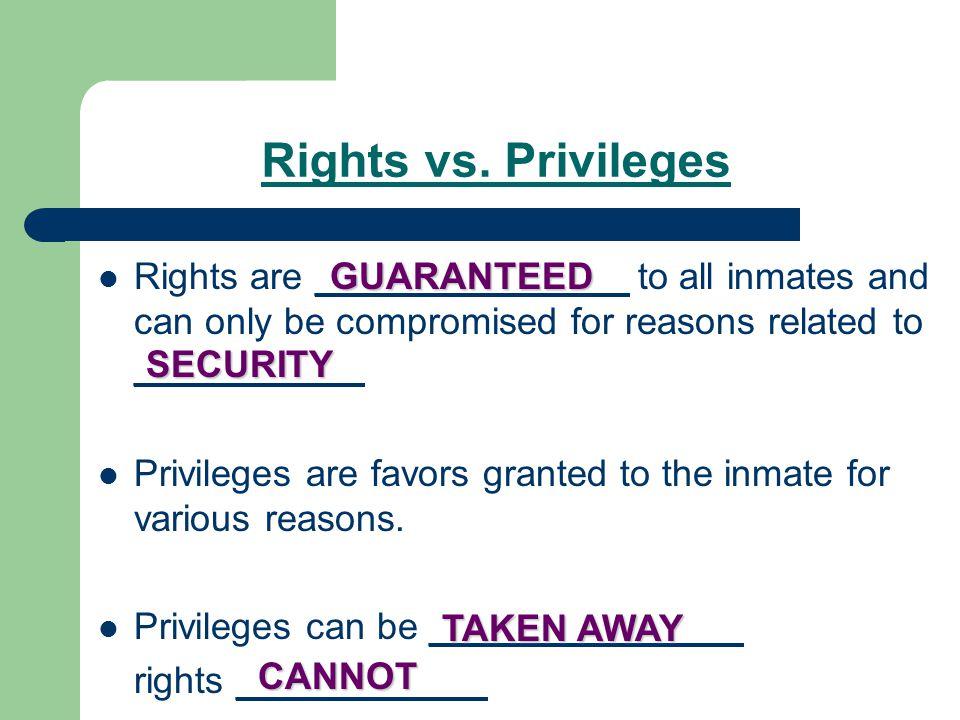 Rights vs.