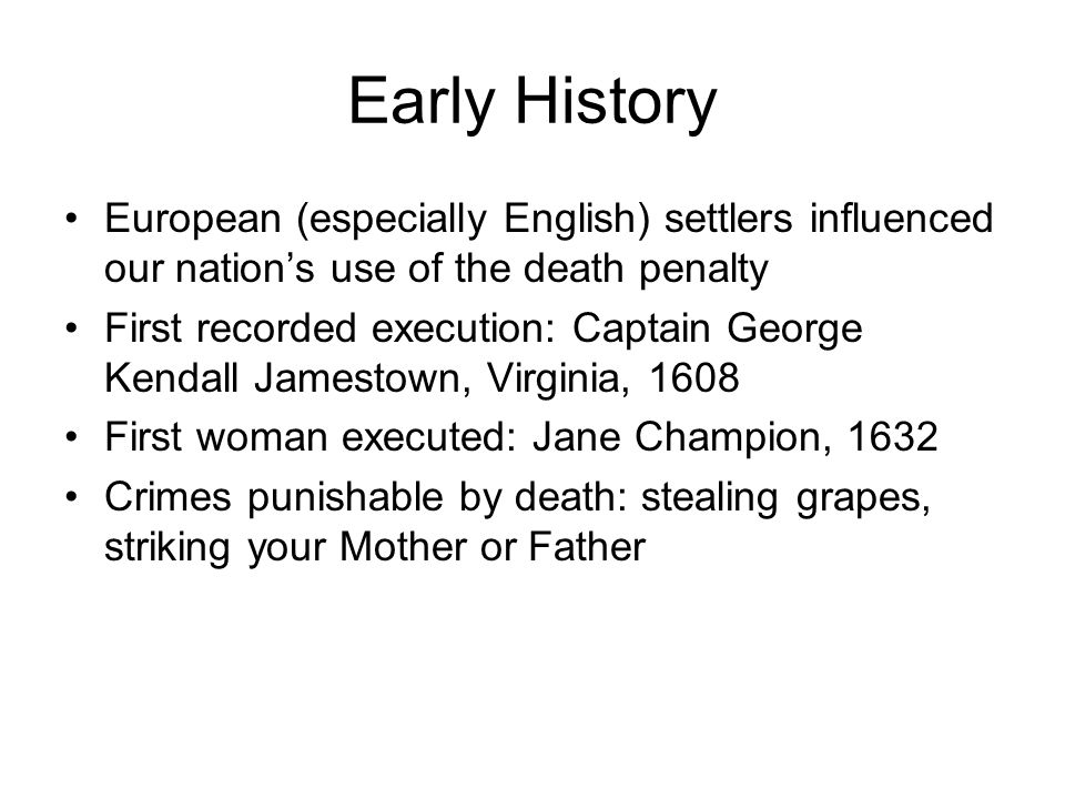 Death Penalty Essay Topics
