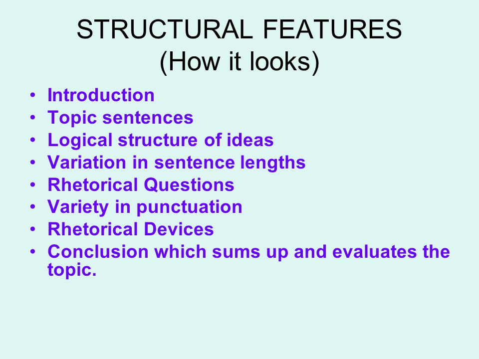RHETORICAL DEVICES Rhetoric means the ability to use language effectively and includes the following devices: