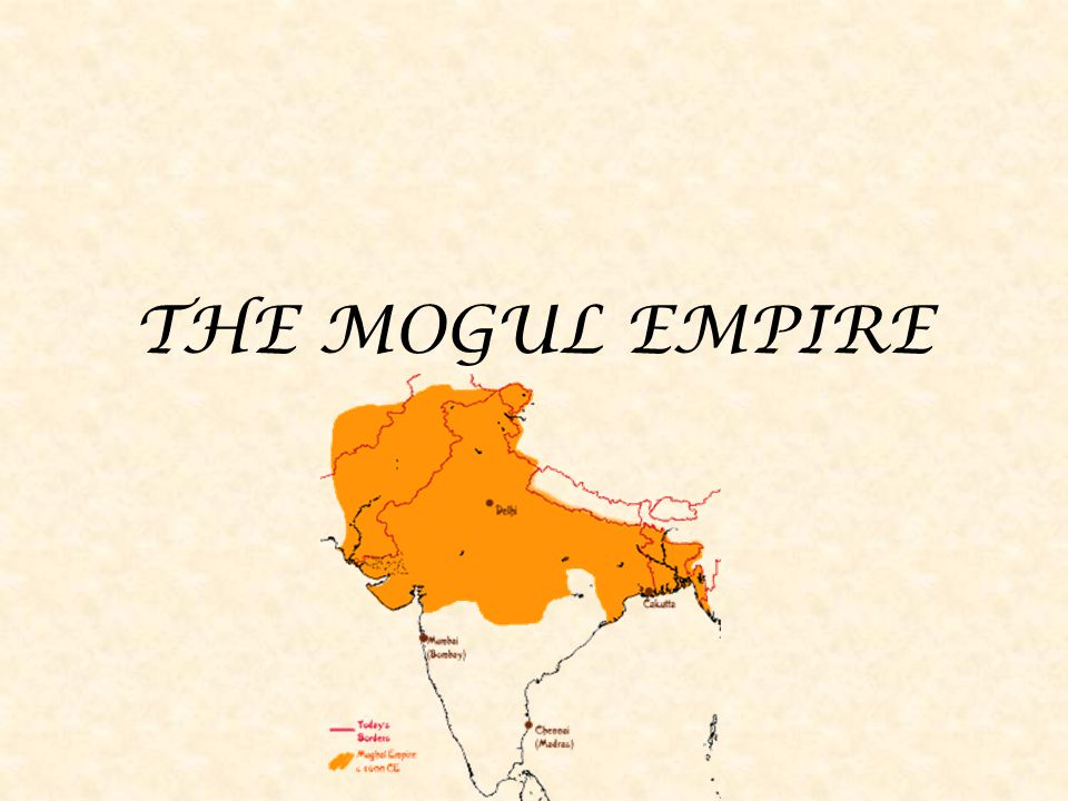 BABUR 1526-1530 He founded the empire in 1526 when he defeated a Delhi sultan His army of 12,000 defeated the sultan's 100,000 men Moguls were descendants of the Mongols, Turks, Iranians and Afghans