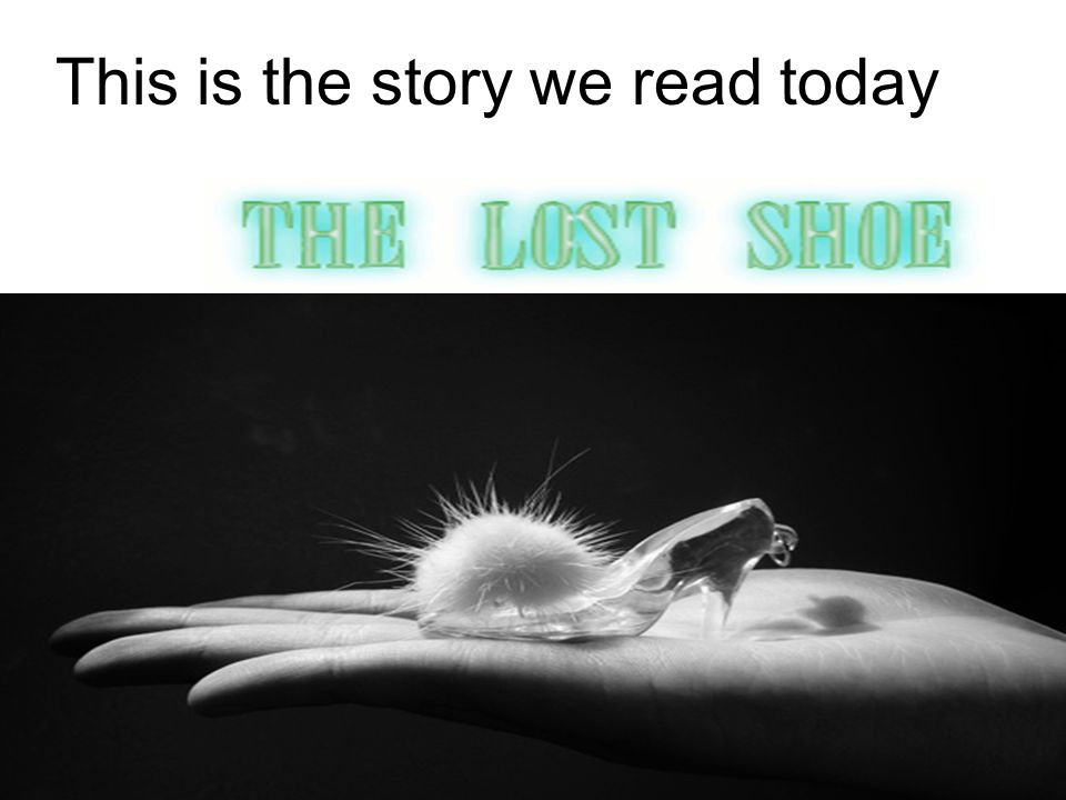 This is the story we read today