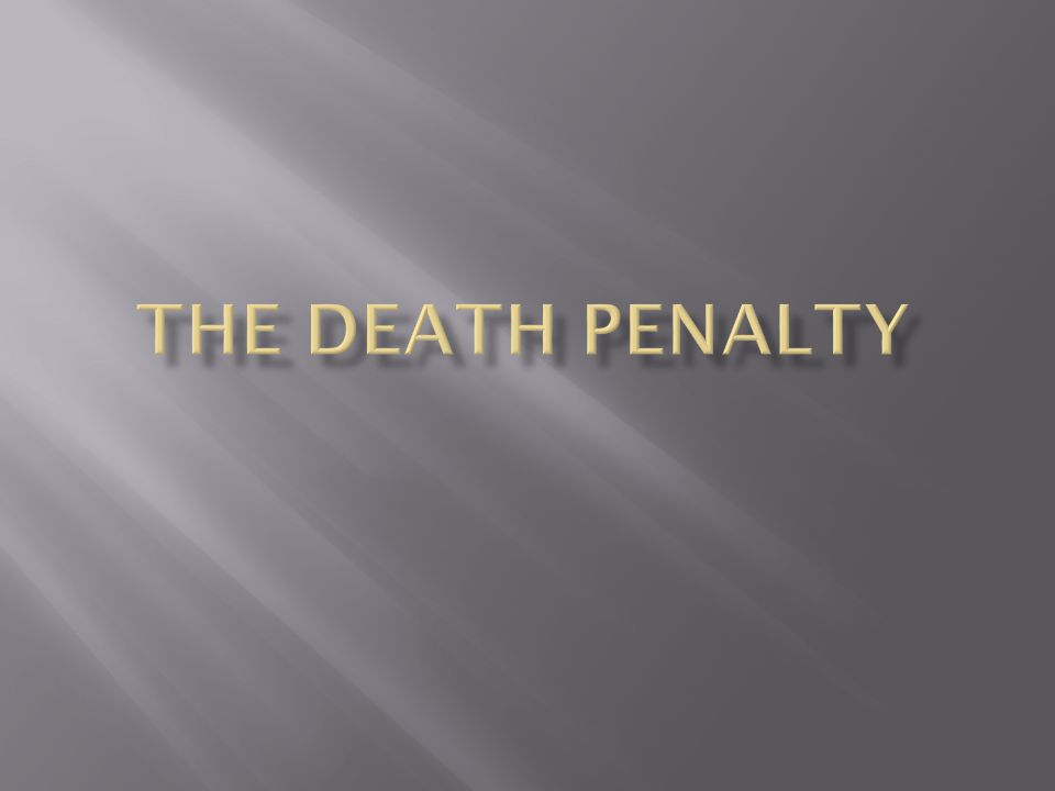 Religious activists work to abolish the death penalty  Religions that support death penalty:  The Christian Coalition  Fundamentalist churches  Pentecostal churches  Religions that oppose death penalty:  Roman Catholic Church  Most Protestant denominations:  Baptists, Episcopalians, Lutherans, Methodists, Presbyterians, and the United Church of Christ  Religions that are indifferent:  The Church of Jesus Christ of Latter-day Saints
