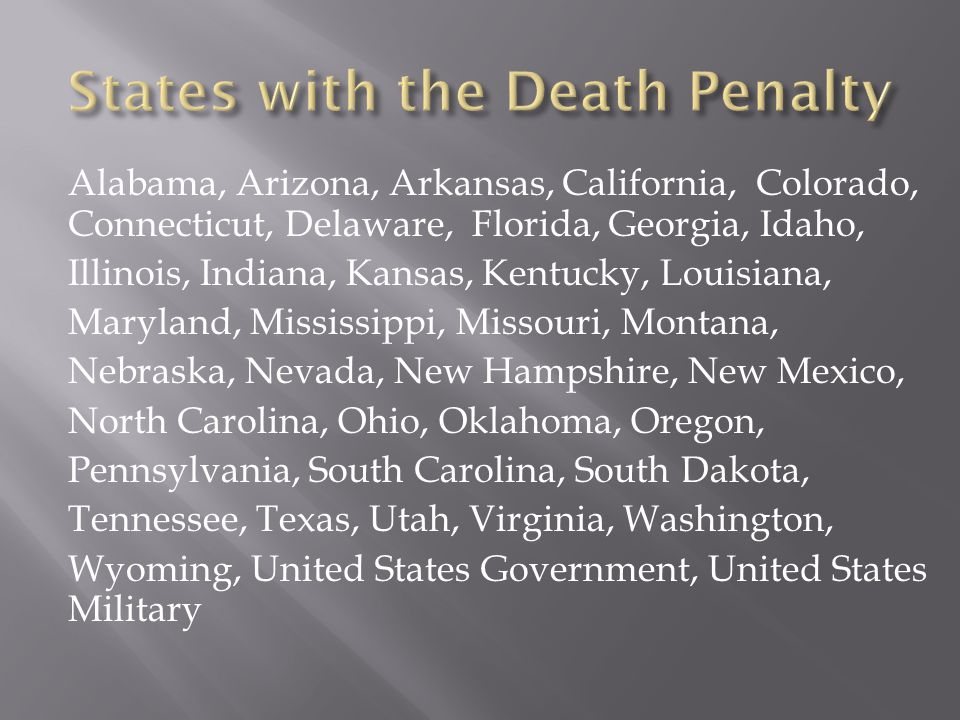  A study conducted in North Carolina found that the odds of receiving the death penalty rose by 3.5 times if the victim was white.