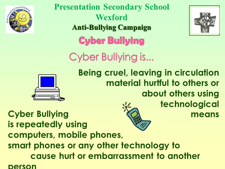 Your home should be a safe place where you can be away from bullying and harassment......