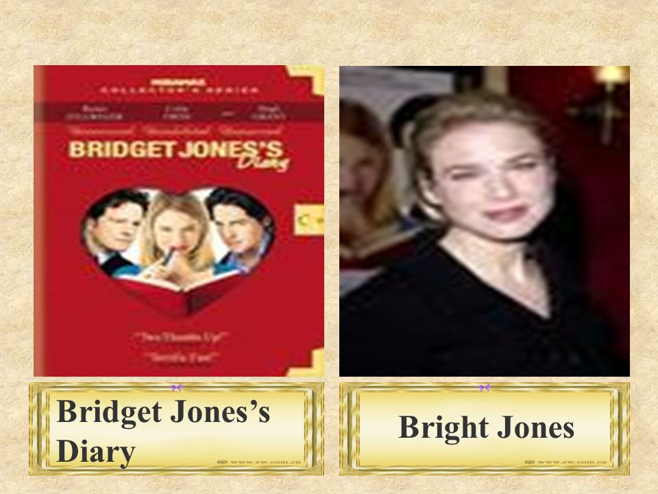 Bright Jones Bridget Jones's Diary
