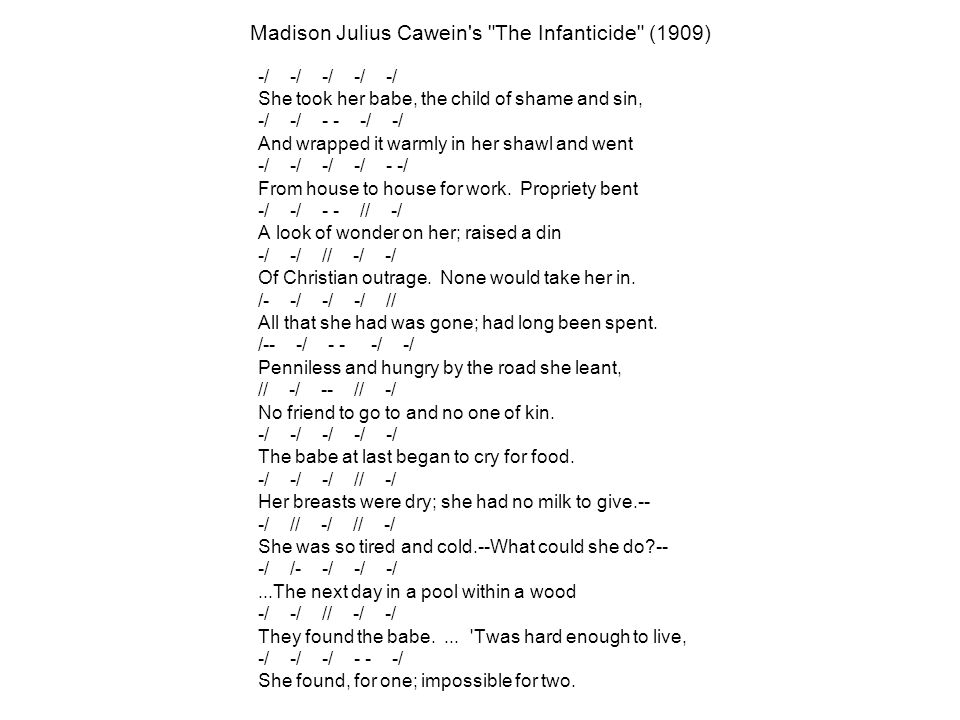 Madison Julius Cawein s The Infanticide (1909) -/ -/ -/ -/ -/ -/ -/ -- -/ -/ -/ -/ -/ -/ --/ -/ -/ -- // -/ -/ -/ // -/ -/ /- -/ -/ -/ // /-- -/ -- -/ -/ // -/ -- // -/ -/ -/ -/ -/ -/ -/ -/ -/ // -/ -/ // -/ // -/ -/ /- -/ -/ -/ -/ -/ // -/ -/ -/ -/ -/ -- -/