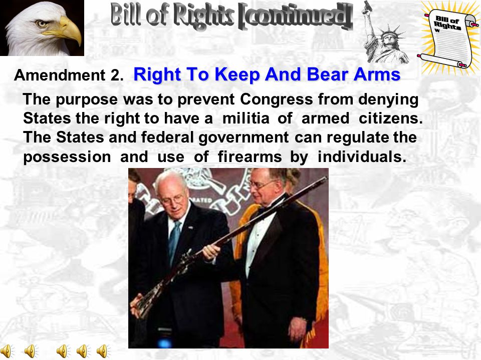 Right To Keep And Bear Arms Amendment 2.