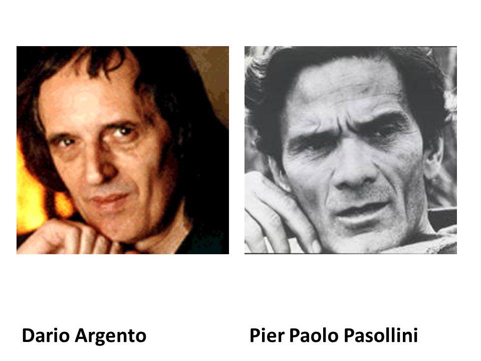 Dario ArgentoPier Paolo Pasollini