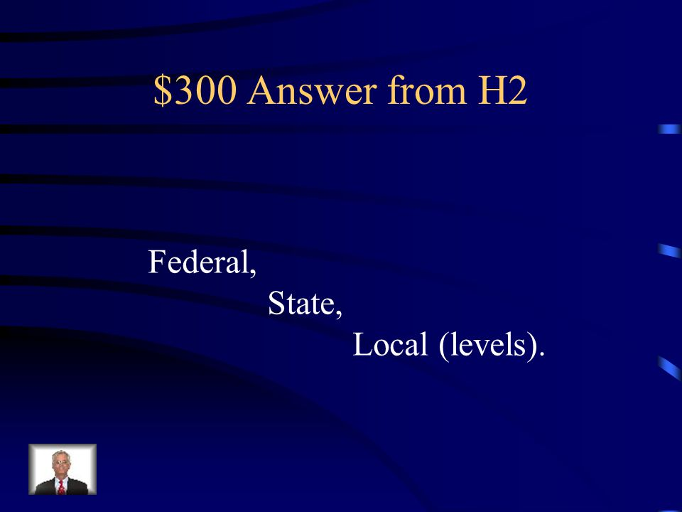 $300 Question from H2 Political party leadership occurs at what three levels of government in America?