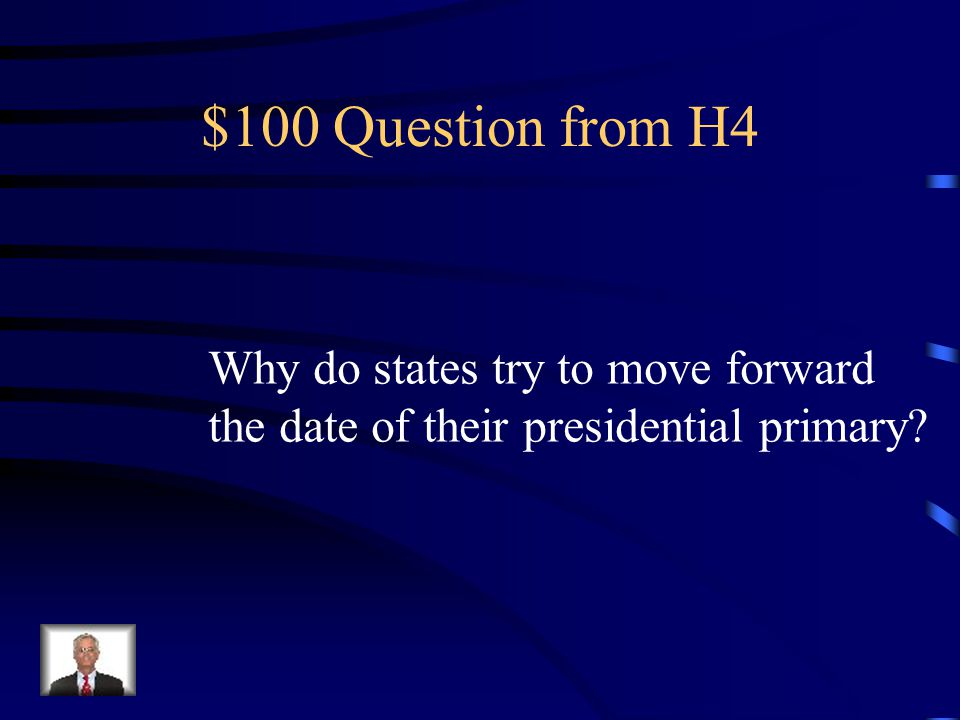 $500 Answer from H3 National Security Advisor.