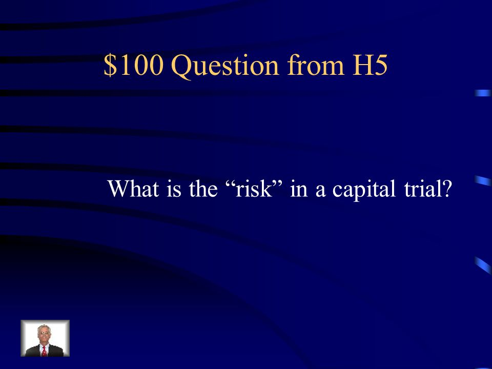 $500 Answer from H4 You cannot be tried under the same charge twice.