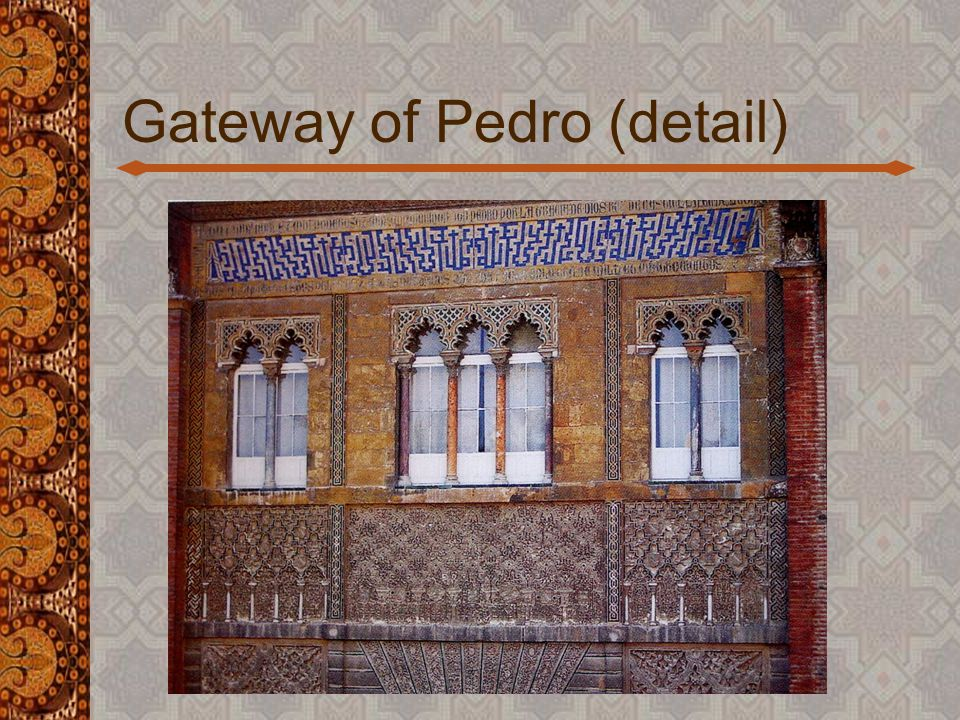 The Alcazar of Pedro the Cruel (1351) Seville