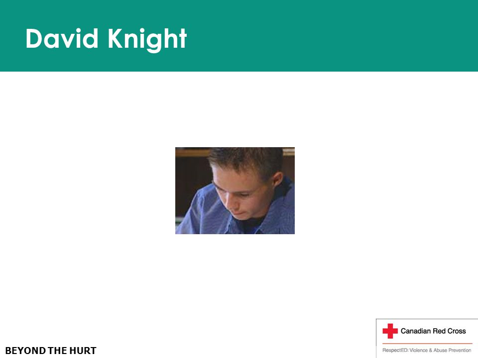 BEYOND THE HURT David Knight
