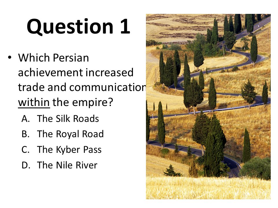 Question 2 Which of the following is the Persian religion based on conflict between good and evil.