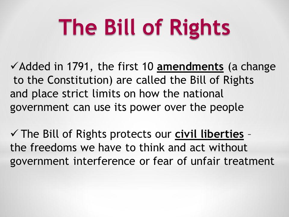 The First Amendment I.