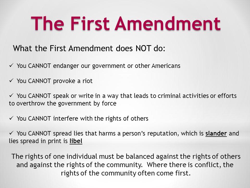The Second Amendment II.
