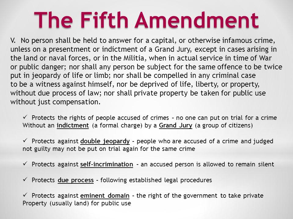 The Sixth Amendment VI.