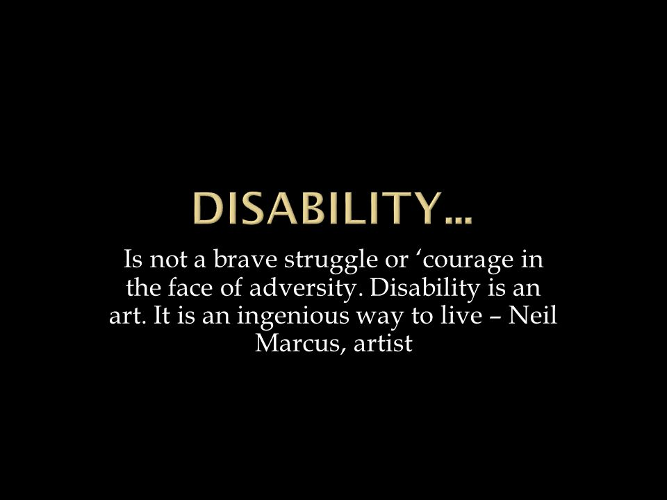 Is not a brave struggle or 'courage in the face of adversity.