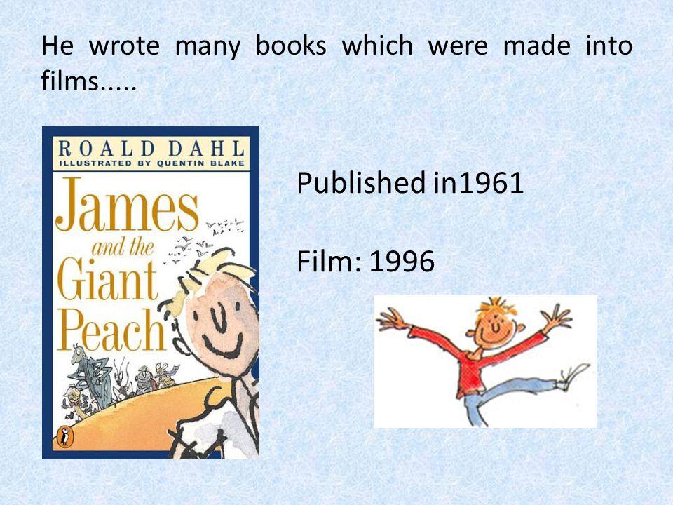 Roald Dahl's first book for children.