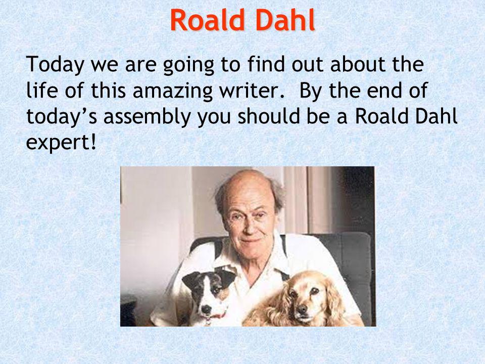 Happy Roald Dahl Day.