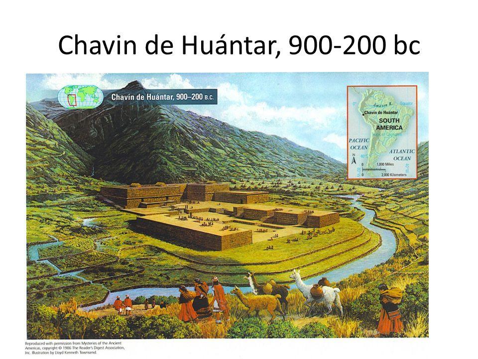 Chavin de Huántar, 900-200 bc