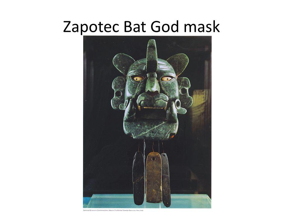 Zapotec Bat God mask