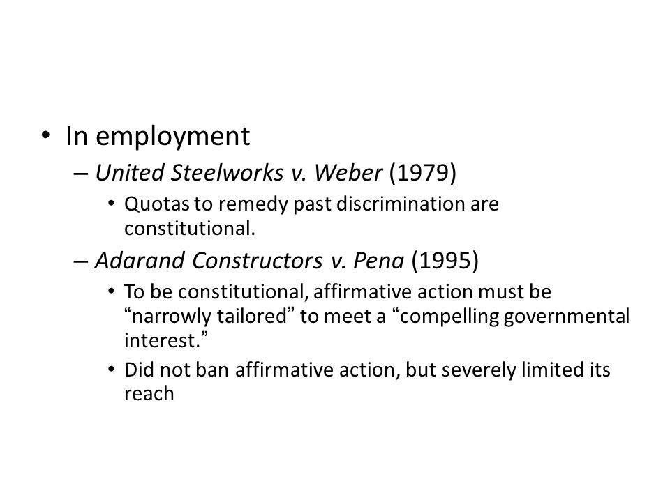 In employment – United Steelworks v.