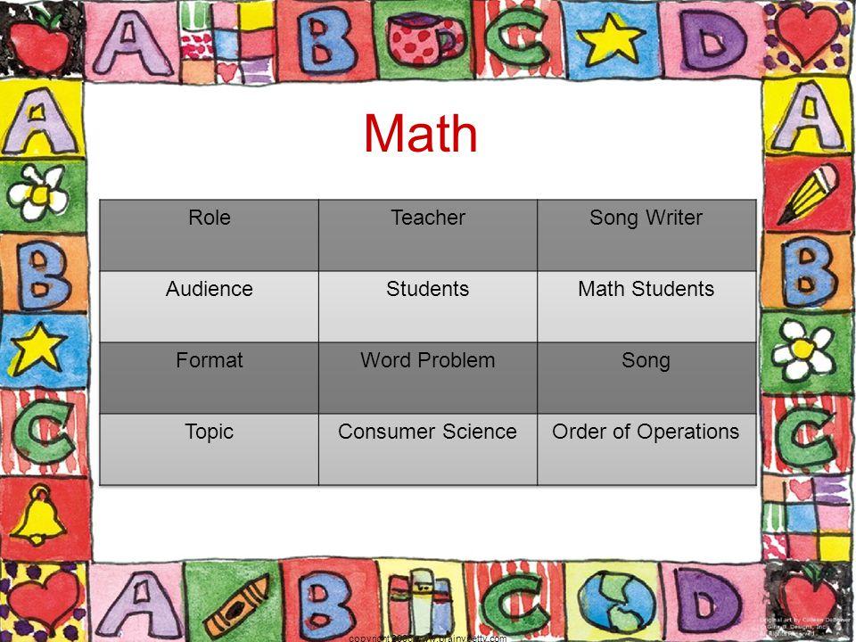 Math copyright 2006 www.brainybetty.com