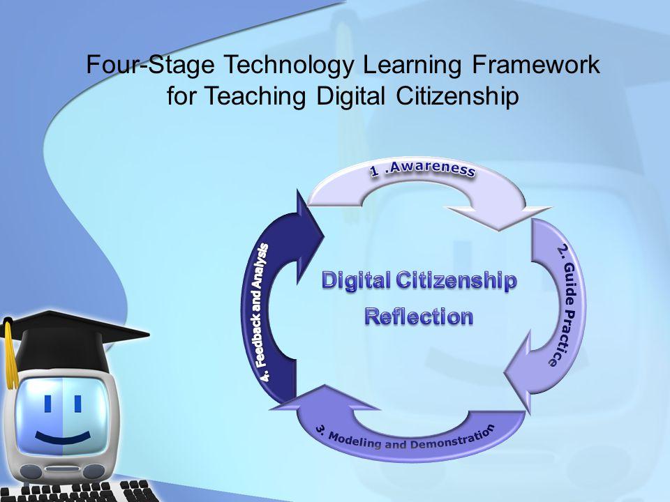 Four-Stage Technology Learning Framework for Teaching Digital Citizenship