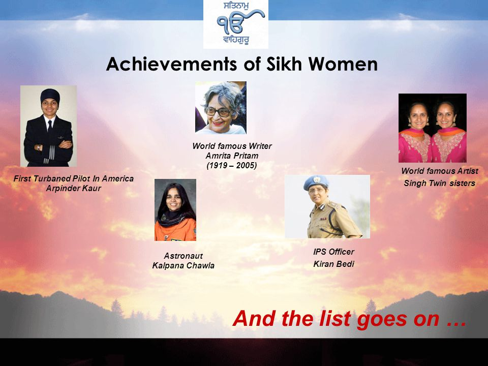 Famous Sikh Women Snatam Kaur Khalsa was a New Age Grammy Award Nominee for her Spiritual music and is a world renowned peace activist promoting harmony through music.