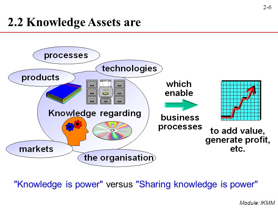 2-6 Module: IKMM 2.2 Knowledge Assets are