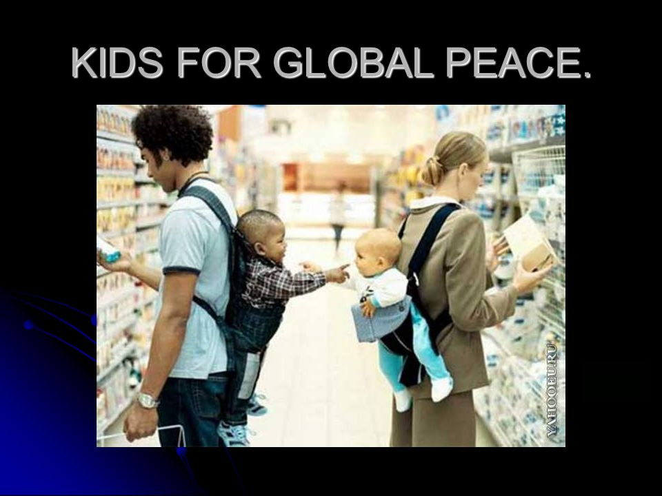 KIDS FOR GLOBAL PEACE.