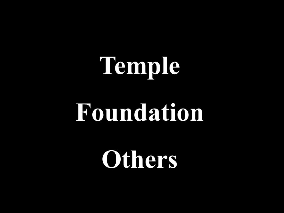 Temple Foundation Others