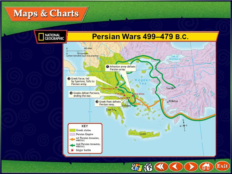 The Persian Empire 500 B.C.