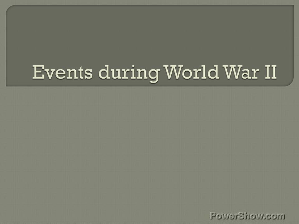  In April 1940 the quiet time of the war exploded into action.