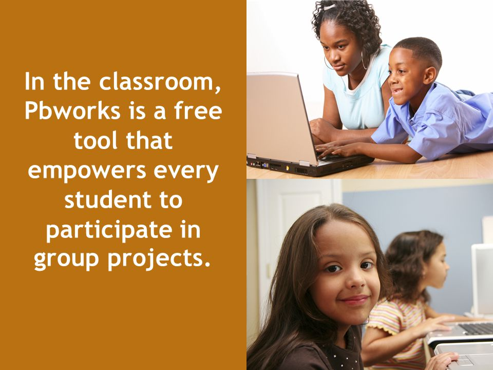 In the classroom, Pbworks is a free tool that empowers every student to participate in group projects.