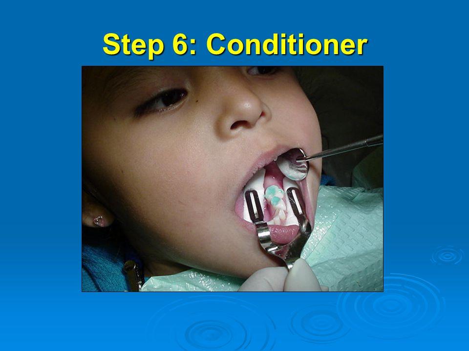 Step 6: Conditioner