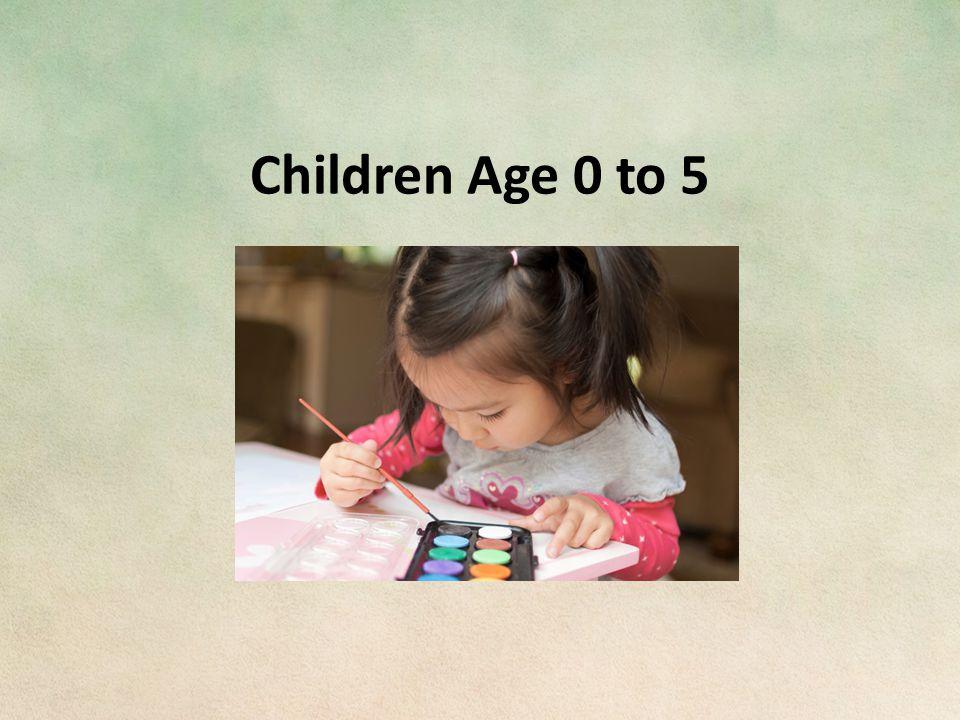 Children Age 0 to 5