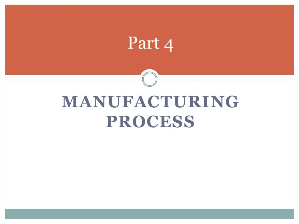 Manufacturing Process Layout Utilize a Product Layout via assembly line balancing.