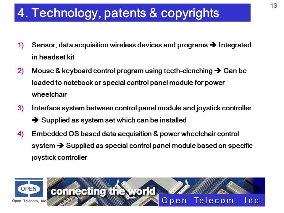 Open Telecom, Inc.13 4.
