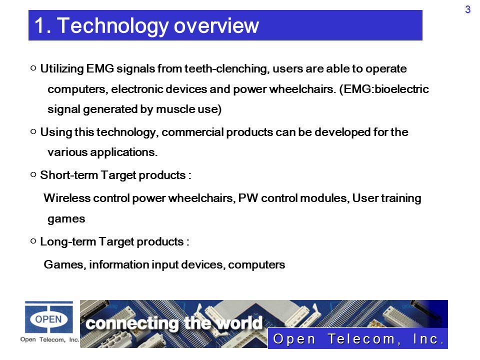 Open Telecom, Inc.3 1.