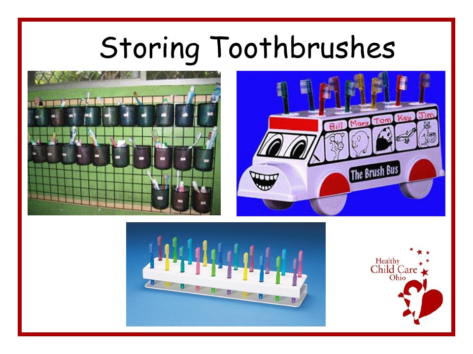 Storing Toothbrushes