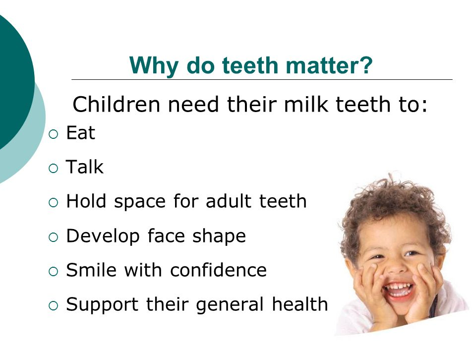 Today's problem Approximately 23% of 5 year olds in Buckinghamshire are affected by tooth decay * this may became painful and require multiple extractions treatment is often traumatic and may require a general anaesthetic *National Dental Epidemiology Programme for England: oral health survey of five-year-old children 2012 A report on the prevalence and severity of dental decay