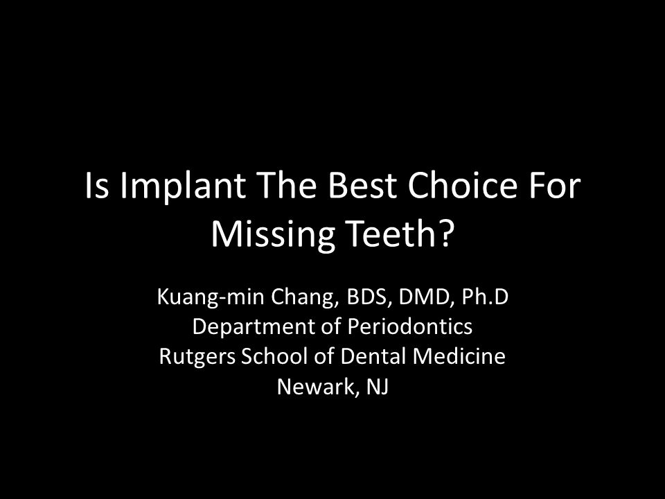 How long can an implant las t.