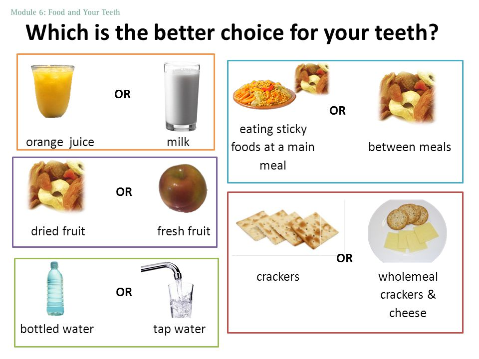 Which is the better choice for your teeth.