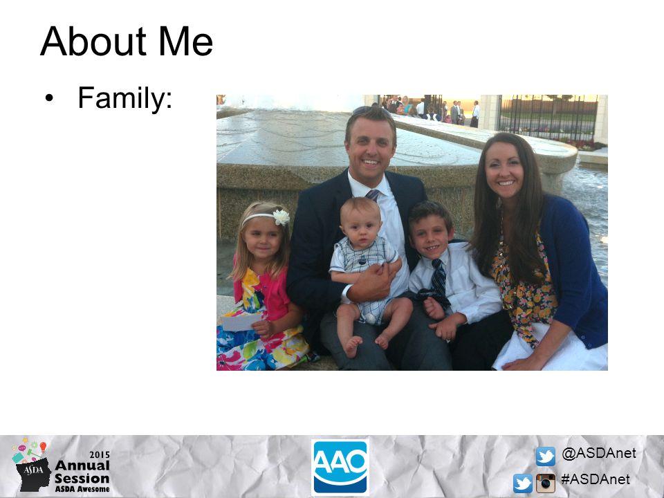 @ASDAnet #ASDAnet About Me Family: