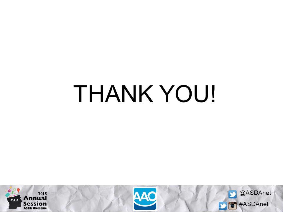 @ASDAnet #ASDAnet THANK YOU!