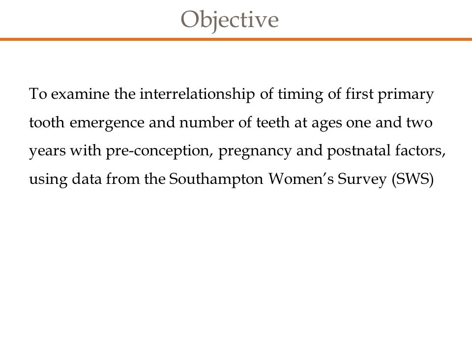 Southampton Women's Survey (SWS) 12,583 non-pregnant Southampton women aged 20-34 interviewed about diet, body composition, physical activity, social circumstances and lifestyle Subsequent pregnancies studied.